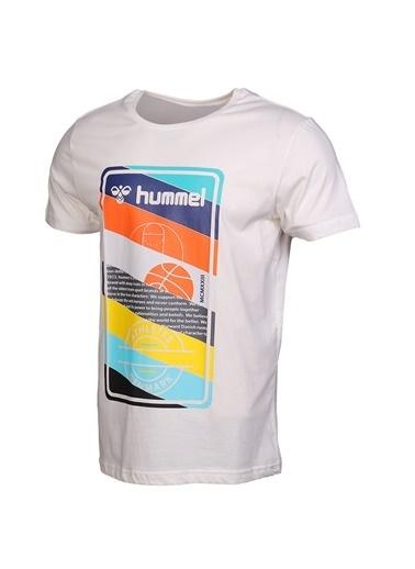 Hummel Erkek Browst Tişört 910997-9003 Beyaz